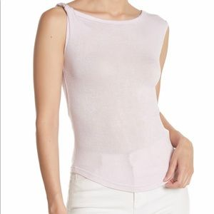 NWT Free People That girl twist knit lilac top XS